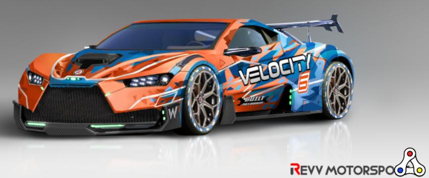 revv racing concept art car nft vehicle
