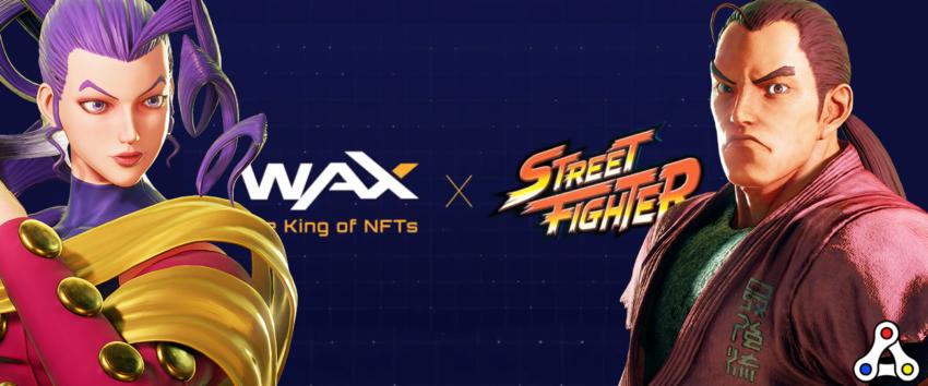 rose dan street fighter wax nft series 2