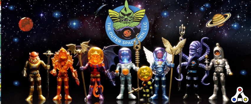 The Outer Space Men vIRL NFT Wax toys