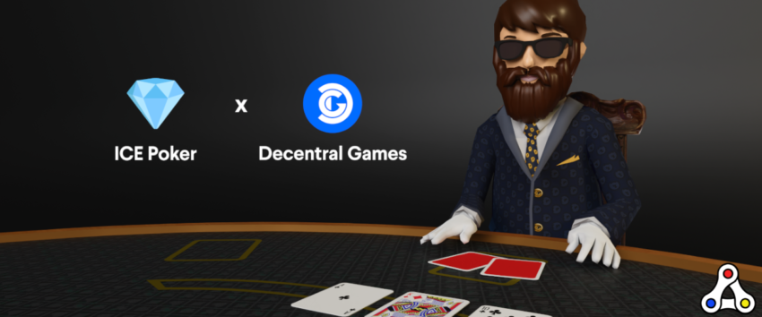 ICE Poker Decentral Games play to earn token