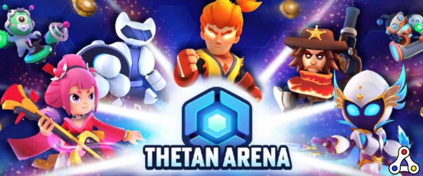 Thetan Arena artwork logo