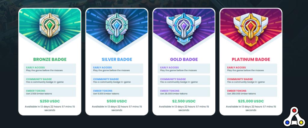 ember sword community badge token