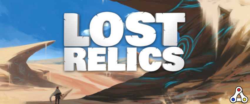 lost relics logo artwork