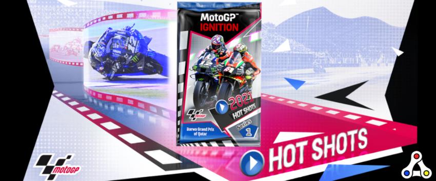 motogp ignition hot shots nft pack sale