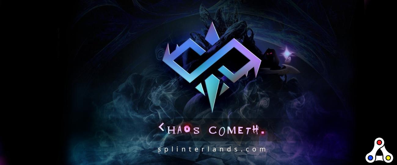 splinterlands chaos legion artwork logo