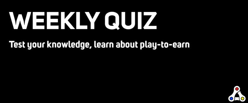 weekly quiz header