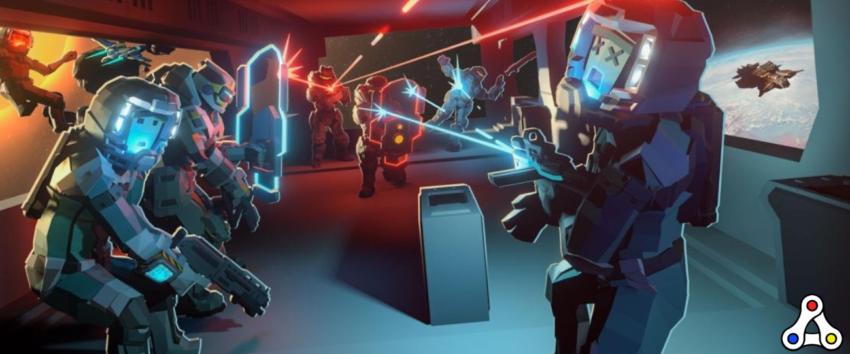 Space Misfits FPS combat