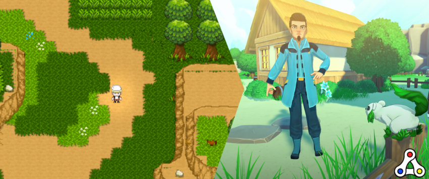 chainmonsters graphics progression development